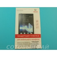 Защитная пленка Sony Xperia SP RedLine Матовая