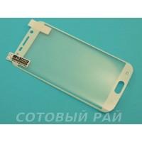 Защитная пленка Samsung G925f (S6 Edge) Brauffen (Белая)