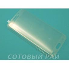 Защитное стекло Samsung G925 (S6 Edge) Изогнутое (Прозрачное)