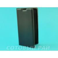 Чехол-книжка LG Magna (H502) Silikon2 Боковой (Черный)