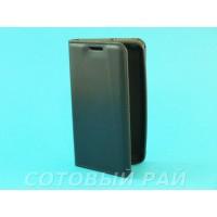 Чехол-книжка Nokia 430 (Microsoft) Silikon2 Боковой (Черный)