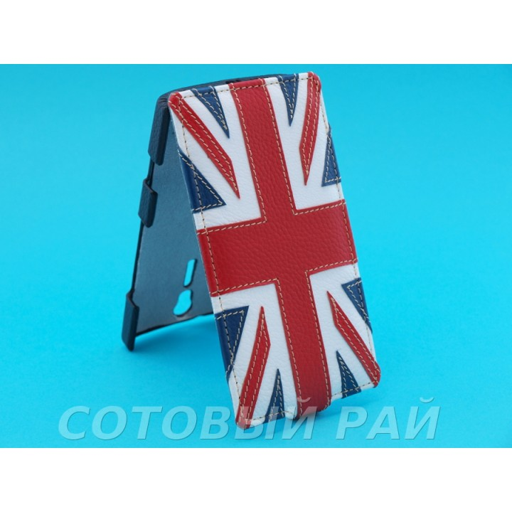 Чехол-книжка Sony Xperia S (LT26i) Melkco (Британский Флаг)