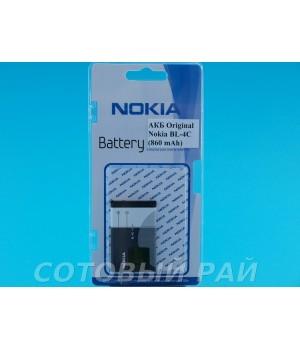 Аккумулятор Nokia BL-4C 6100 , 6300 , 6131 , 6260 (860mAh) Original