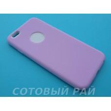 Крышка Apple iPhone 6 / 6s Силиконовая Paik (Фиолетовая)