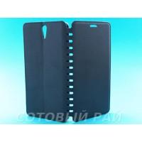 Чехол-книжка Sony Xperia C5 (E5533) COMK Бок (Черный)
