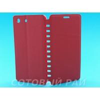 Чехол-книжка Sony Xperia M5 (E5633) COMK Бок (Красный)