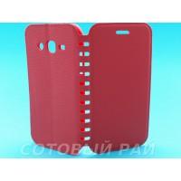 Чехол-книжка Samsung J200h (J2) COMK Бок (Красный)