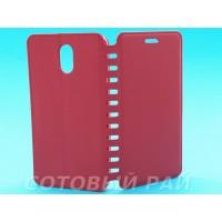 Чехол-книжка Lenovo Vibe P1m COMK Бок (Красный)