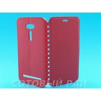 Чехол-книжка Asus Zenfone 2 Laser (ZE601KL) COMK Бок (Красная)
