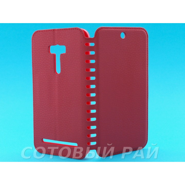 Чехол-книжка Asus Zenfone Selfie (ZD551KL) COMK Бок (Красный)