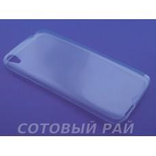 "Крышка Alcatel One Touch Idol 3 (5,5) 6045Y iBox (Прозрачная)"""