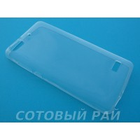 Крышка Huawei Honor 4C Just Slim Силикон (Прозрачная)