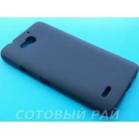 Крышка Huawei Honor 3X/G750 Just Силикон (Черный)