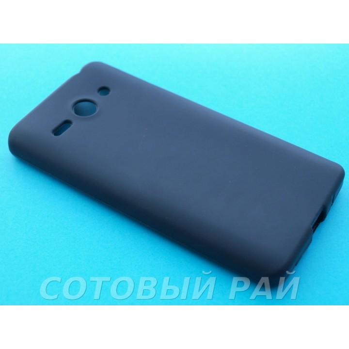 Крышка Huawei Ascend Y530 Just Силикон (Черный)