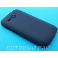 Крышка Huawei Ascend Y600 Just Силикон (Черный)