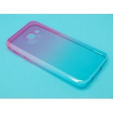 Крышка Samsung A320f (A3-2017) iBox Crystal (Градиент)