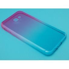 Крышка Samsung A720f (A7-2017) iBox Crystal (Градиент)