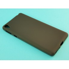 Крышка Sony Xperia E5 (F3311) Just Slim Силикон (Черная Матовая)