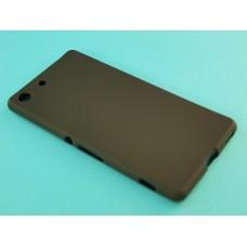 Крышка Sony Xperia M5 (E5633) Just Slim силикон (Черная Матовая)