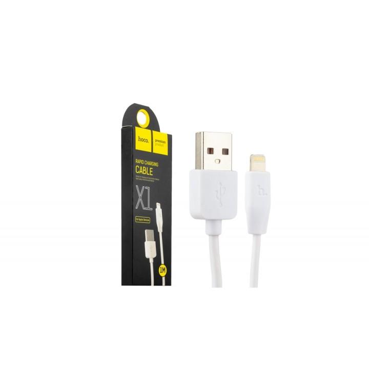 КаБель Apple Lightning 8 pin Hoco X1 (1 метр)