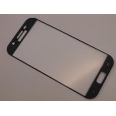 Защитное стекло Samsung A520f (Galaxy A5-2017) Полный экран (Черное)