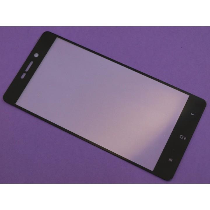 Защитное стекло Xiaomi Redmi 3 / 3S Полный экран (Черное)