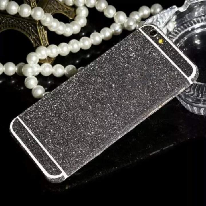 Наклейка Samsung J510 (J5 2016 ) Алмазный Блеск на 2 стороны (Графитная)