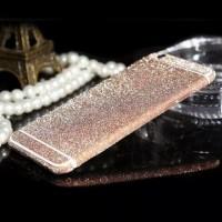 Наклейка Samsung J510 (J5 2016 ) Алмазный Блеск на 2 стороны (Розовая)