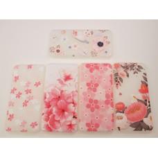 Крышка Meizu M3 Note Силикон Цветы