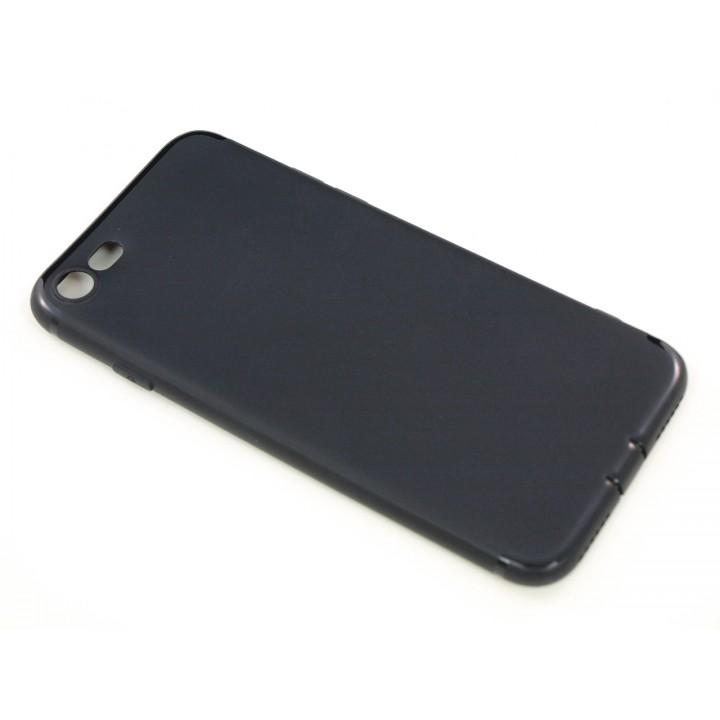 Крышка Apple iPhone 7 Силикон Paik (Черный)