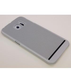 Крышка Samsung G925f (S6 Edge) Paik Сеточка (СереБро)