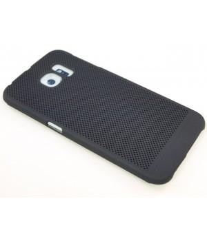 Крышка Samsung G925f (S6 Edge) Paik Сеточка (Черная)