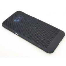 Крышка Samsung G935f (S7 Edge) Paik Сеточка (Черная)