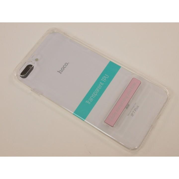 Крышка Apple iPhone 7 Plus Hoco Силикон (Прозрачная)
