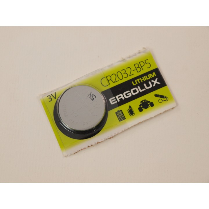 Батарейки CR2032 ErgoLux