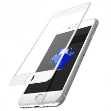 Защитное стекло Apple iPhone 7 5D (Белое)