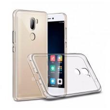 Крышка Xiaomi MI 5S+ Silco Силикон (Прозрачная)