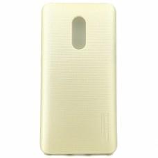 Крышка Xiaomi RedMi 4 Motomo Силикон (Золотая)
