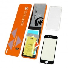 Защитное стекло Apple iPhone 8 WK 3D Excellence (Черное)
