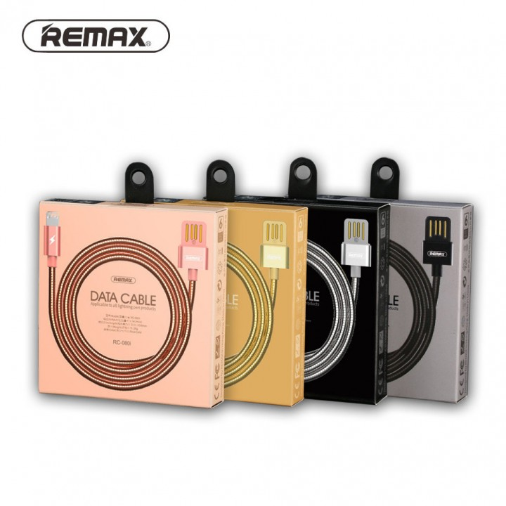 КаБель Apple Lightning 8 pin Remax Tinned Copper (RC-080i)