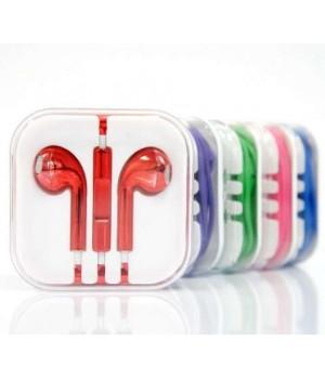 Гарнитура EuroPods iPhone 5 Colour Блестящая Originals