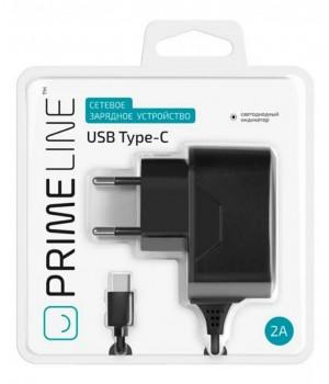 Сетевое Зарядное Устройство Prime Line Type-C (2,1A)
