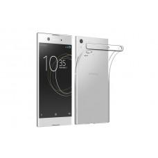 Крышка Sony Xperia XA1 (G3112) Just Slim силикон (Прозрачная)