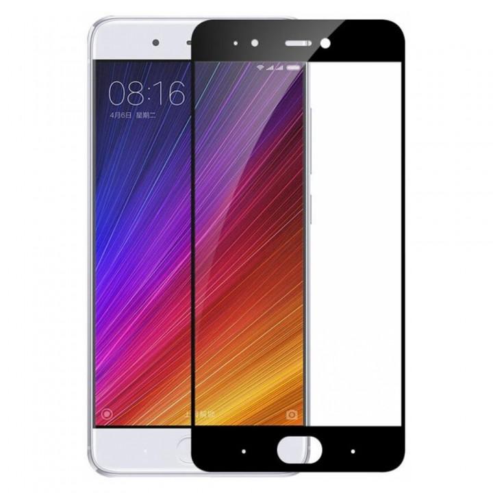 Защитное стекло Xiaomi MI 6 Полный экран (Черное)
