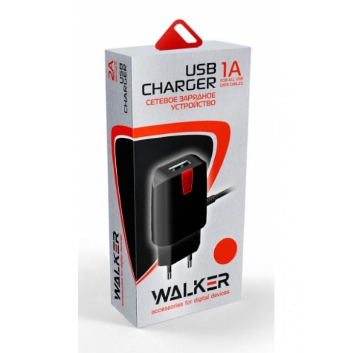 Сетевое Зарядное Устройство Walker Apple iPhone 5/6/7 (1A)