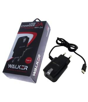 Сетевое Зарядное Устройство Walker Type-C (2A)