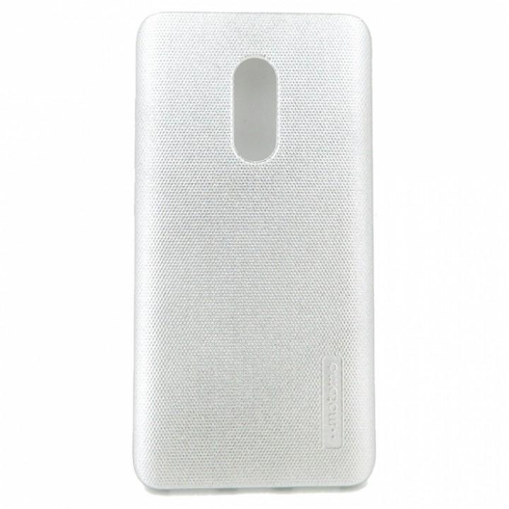 Крышка Nokia 6 Motomo Силикон (СереБро)