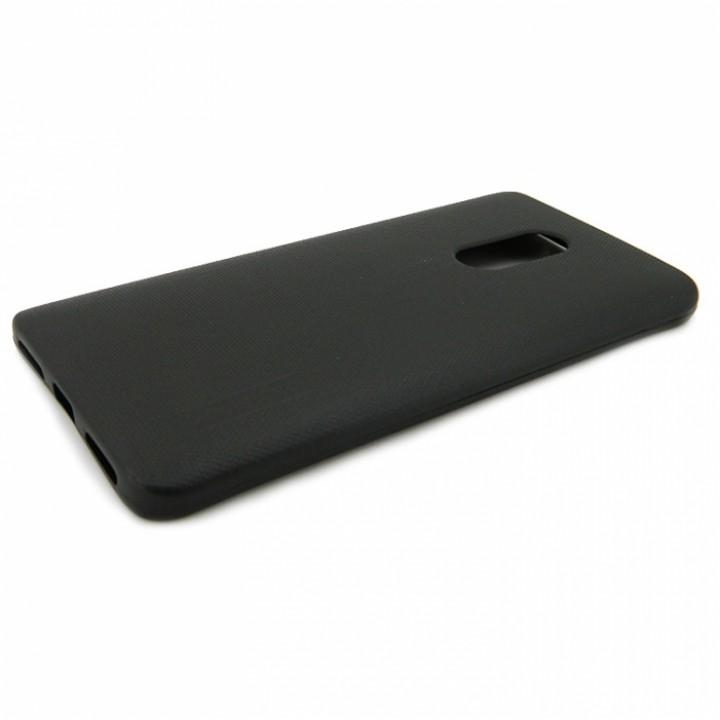 Крышка Samsung A720f (A7-2017) Motomo Силикон (Черная)