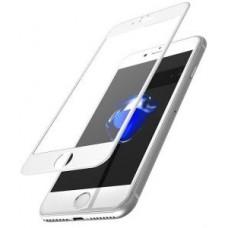 Защитное стекло Apple iPhone 8 5D (Белое)