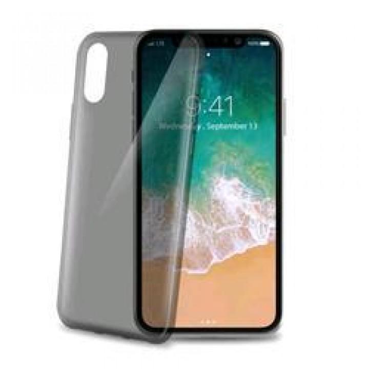 Крышка Apple iPhone X / Xs Силиконовая Paik Thin (Черная)
